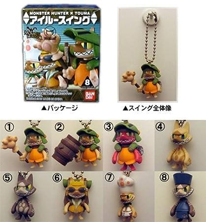 Monster Hunter X Touma Airu Swing Keychains (japan import ...