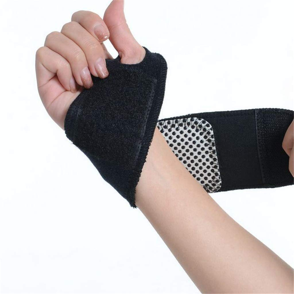 Flurries 1 Double Magnetic Wristband Magnetic Self-Heating Wrist Brace Sports Protection Wrist Belt Bracers