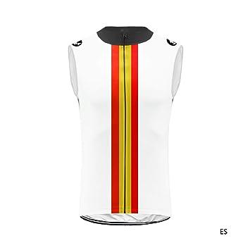 Uglyfrog MTB Maillot Ciclismo Hombre Verano Respirable Secado Rápido Camisa de Sin Mangas y Bib Pantalones Cortos de Gel Acolchado Chalecos Set ESH19VS05: Amazon.es: Deportes y aire libre