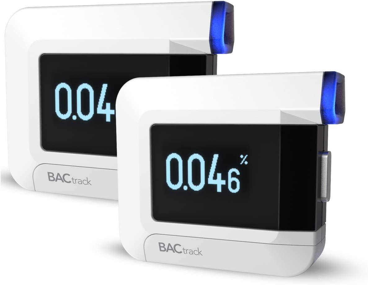 BACtrack C8 Personal Breathalyzer (2 Pack) | Professional-Grade Accuracy | Optional Wireless Smartphone Connectivity to Apple iPhone, Google & Samsung Android Devices | Apple Health Kit Integration