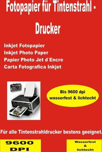 P4L - 100 Blatt hochwertiges Fotopapier Matt 165g/m² DIN A4 Inkjet