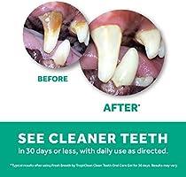 TROPICLEAN 0645095001077 - Clean Dientes Oral Care Gel 59 ml