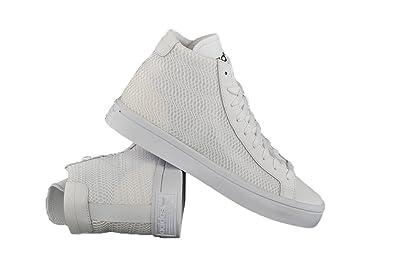 Adidas Courtvantage Mid W - ftwwht/ftwwht/cblack, Größe:7.5: Amazon ...