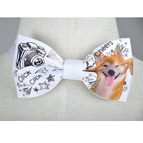 Men's bow tie, Akita bow tie , Dog pattern bow tie , Men's bowtie, handmade bow tie, personalize bow tie, pre tied bow tie