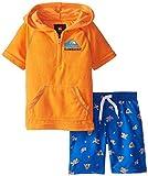 Quiksilver Little Boys' Hoody Top Microfiber Shorts