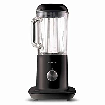 Kenwood BLX50BK Batidora de vaso 1.6L 800W Negro - Licuadora (1,6 L, Batidora de vaso, Negro, Vidrio, Aluminio, Acero inoxidable): Amazon.es: Hogar