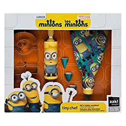 Minions Tiny Chef - Let\'s Make Cookies! Baking Set for Kids by Zak Designs
