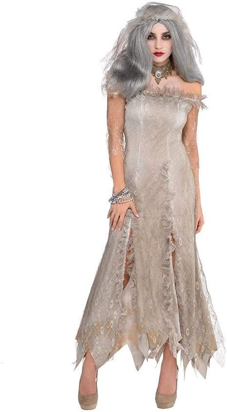 Christys London Disfraz de Novia no muerta para mujer en talla M-L ...