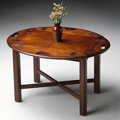 Butler Specialty Coffee - Butler Table - Plantation Cherry Stained Finish
