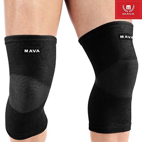 Mava Sports Sleeve Support for Knee for Pain and Discomfort (Best Knee Support For Working Out)