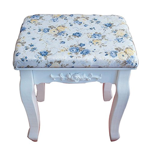 Stool Dana Carrie Green salad dressing chair fabrics small party of white dressing table solid wood changing shoes bench, Blue Monster Hee by Stool (Image #1)