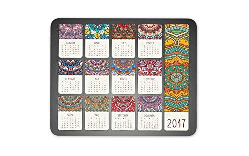 Calendar 2017 Vintage decorative elements product image