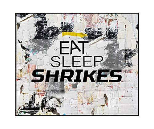 Makoroni - EAT Sleep SHRIKES Animal - Jigsaw Puzzle, 30 pcs. (Shrikes Animals)