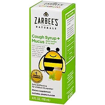 Amazon Com Zarbee S Naturals Children S Cough Syrup