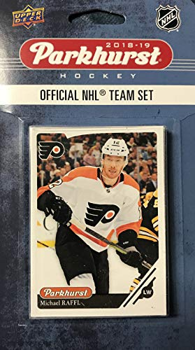 Upper Deck Philadelphia Flyers 2018 2019 PARKHURST Series Factory Sealed Team Set Including Claude Giroux, Wayne Simmonds, Nolan Patrick and 7 Others