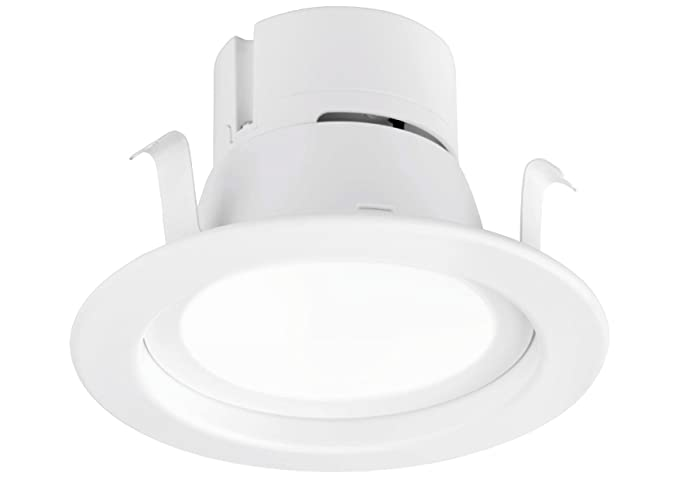 4 inch recessed lighting sloped ceiling aurora 9w inch energy star ulclassified dimmable retrofit led recessed lighting fixture