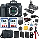 Canon EOS 7D Mark II DSLR Camera Body Only + Battery Grip + Canon EOS Shoulder Bag 100ES + Tripod + Card Reader + Camera Flash + 2pieces 16GB Class 10 Memory Card + Extra Battery + 67mm U.V. Filter