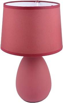 1001KDO POUR LA MAISON Lampe Effet Mat Lie de vin: