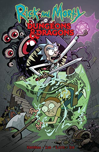 Pdf Graphic Novels Rick and Morty vs. Dungeons & Dragons