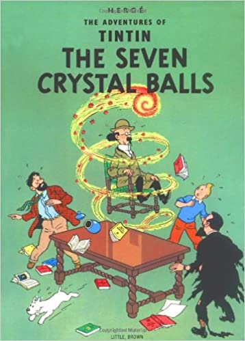 the seven crystal balls adventures of tintin paperback