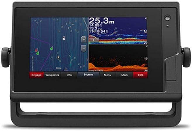 JSANSUI Plotter Trazador gráfico de 7 Pulgadas de Pantalla táctil Gráfico de Botones asistida Plotter multifunción de navegación de navegación de la Nave Plotter: Amazon.es: Hogar