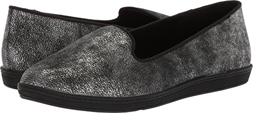 - Soft Style by Hush Puppies Women's Faline Loafer, Black Mist, 05.5 M US
