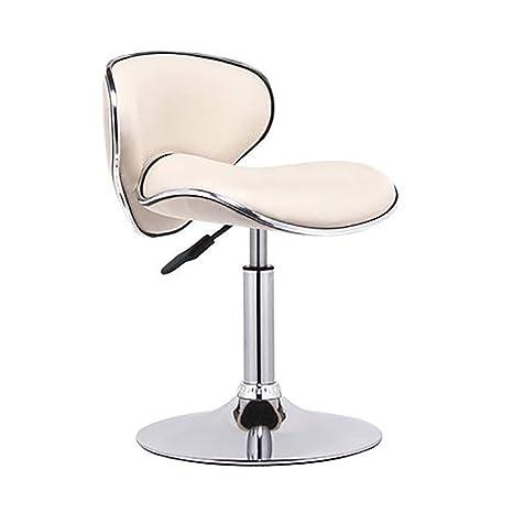 Wondrous Amazon Com Adjustable Height Leather Modern Barstool With Machost Co Dining Chair Design Ideas Machostcouk