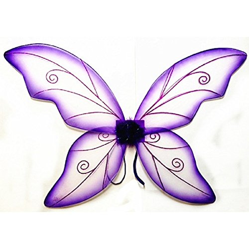 Women's Wild Fairy Wings Costume (Purple) - http://coolthings.us
