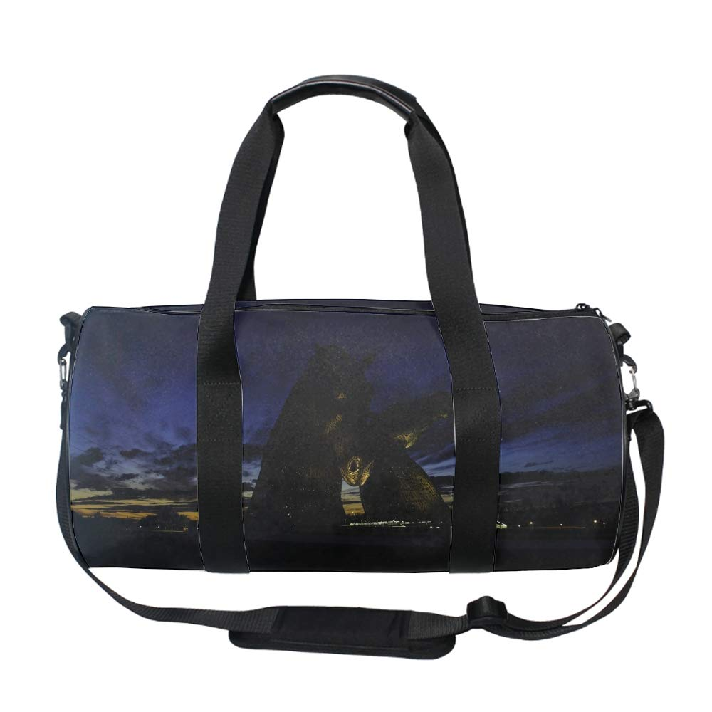 One Size 20 Liters Fruits And Milk Camouflage Barrel//Duffel Bag