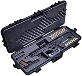 Case Club Pre-Made Waterproof Kel-Tec KSG and Standard Manufacturing DP-12 Shotgun Case with Silica Gel & Accessory Box