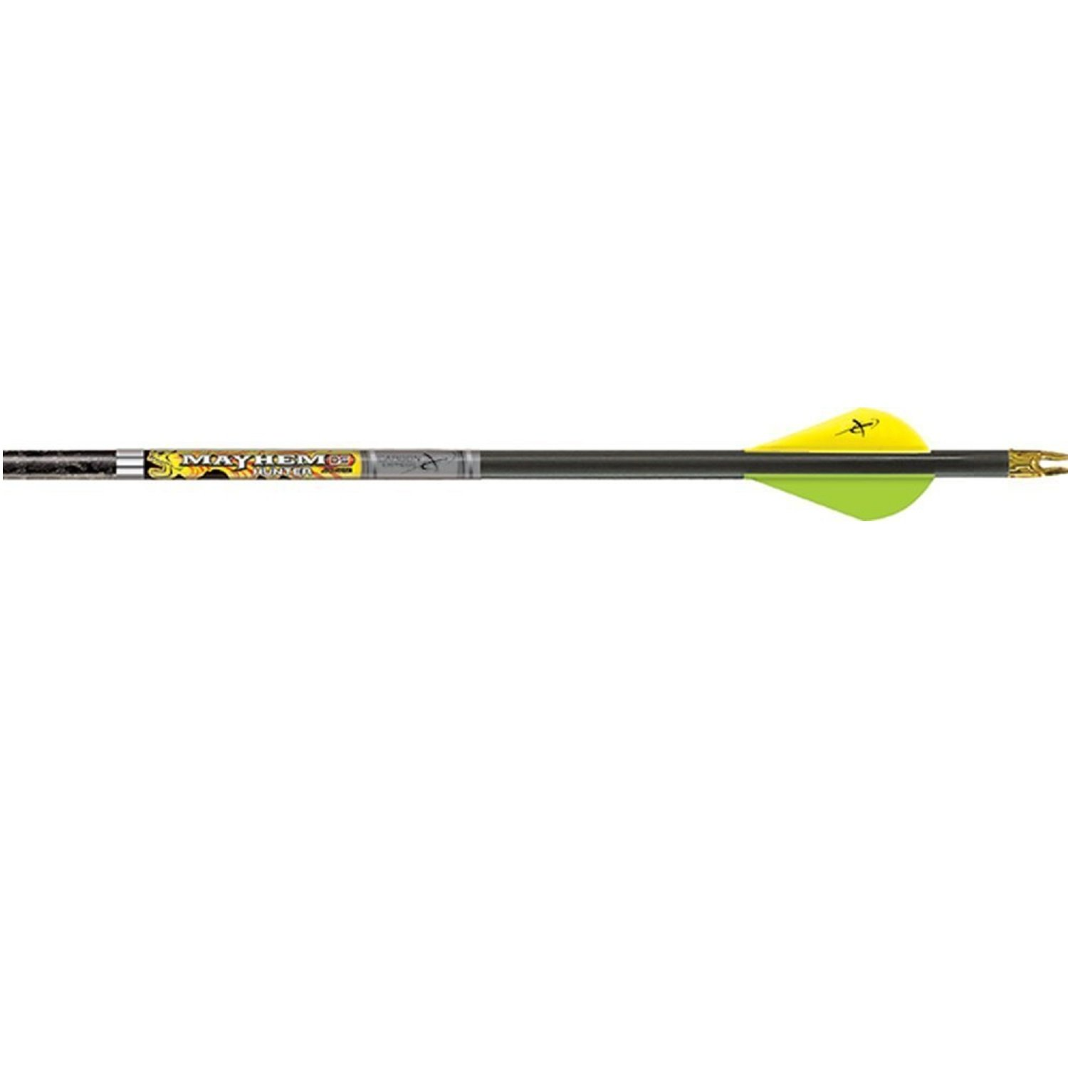 Carbon Express Mayhem Hunter Ds Mayhem Ds Hunter Fletched BuffTuff Carbon Arrows with Quadel Raptor Performance Vanes, Mossy Oak Obsession An