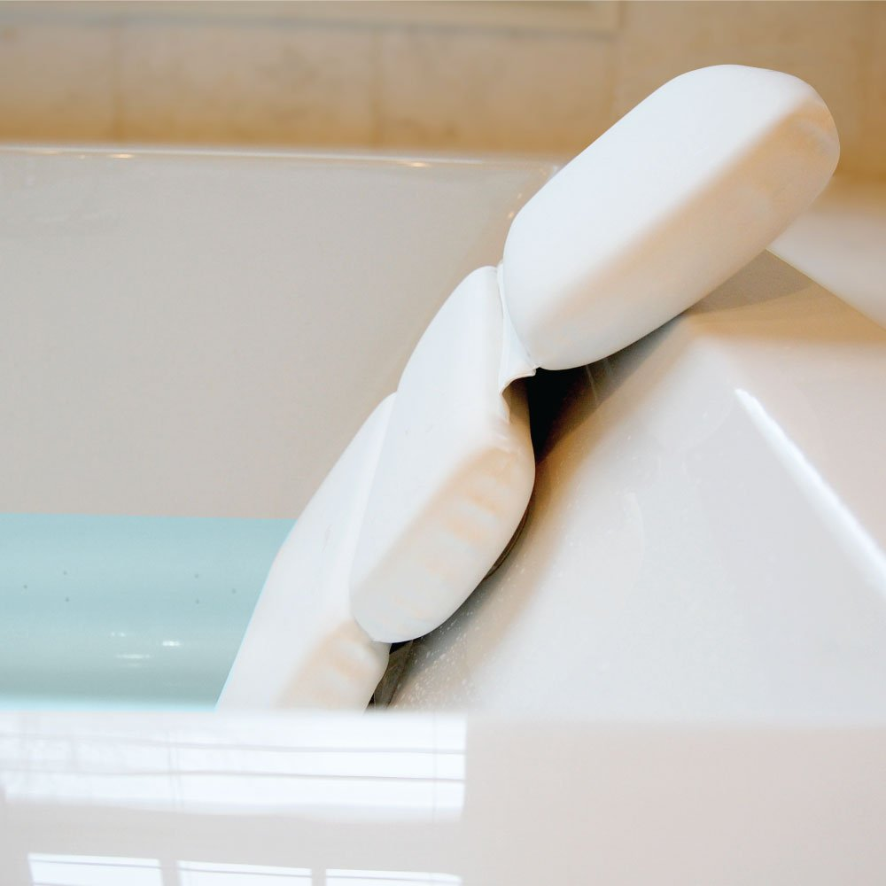 GORILLA GRIP Original Spa Bath Pillow Features Powerful Gripping ...