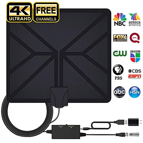 HDTV Antenna Amplified HD Digital Indoor TV Antenna