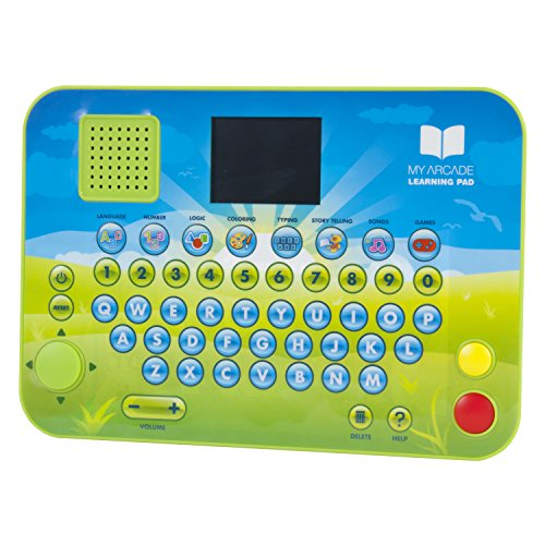 Dreamgear My Arcade Learning Pad – Portable Tablet with 2...