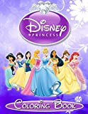 Disney Princess: Coloring Book for Kids and Adults, Great Book for Girls: Volume 2