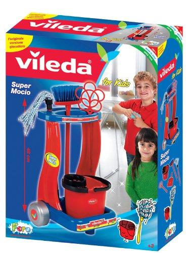 Faro 12087 - Carrito de limpieza Vileda con fregona [Importado de Italia]: Amazon.es: Juguetes y juegos