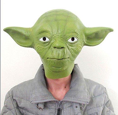 Latex Mask - Adult Size Star Wars Jedi Yoda Deluxe Overhead Halloween Costume Latex Mask One - Pocket Deadpool Leather Adult Wars Swimming Shirt Pink Swim Mask Party Infant Latex - Shrek Latex