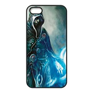 Fashion Magic The Gathering Personalized iPhone 5 5S Rubber Silicone Case Cover by icecream design
