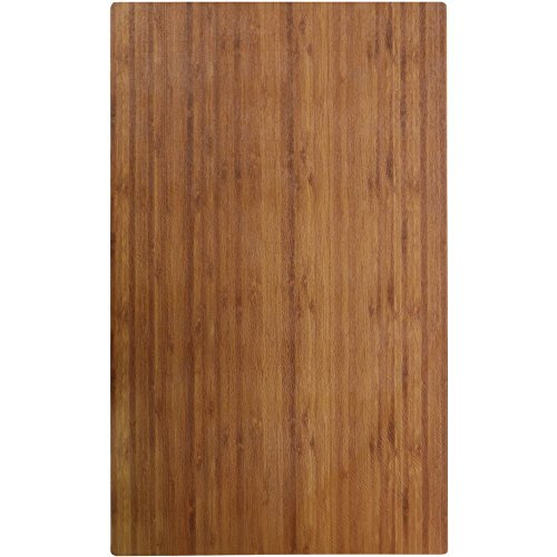 Cold Food Bar Tile Full Size Bamboo Melamine - 21'' L x 12 3/4 W by Hubert