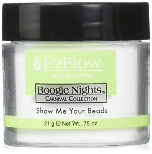 EZ Flow Carnival Glitter False Nails, Show Me Your Beads, 0.75 Ounce