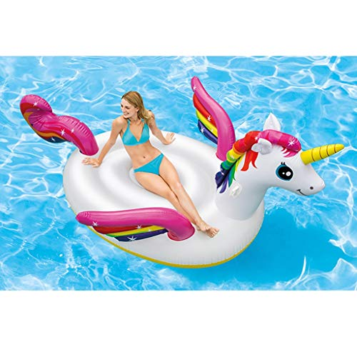 SUN HUIJIE Unicorn Pool Float Party Tube - Inflatable Rafts, Adults & Kids Swimming Pool (Size : 287193165cm) by SUN HUIJIE (Image #2)