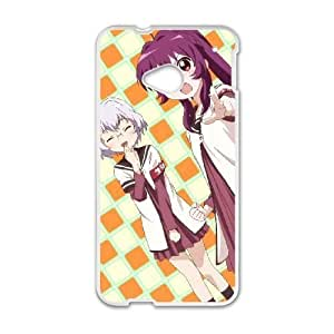 HD exquisite image for HTC One M7 Cell Phone Case White yuruyuri Popular Anime image WUP8112924