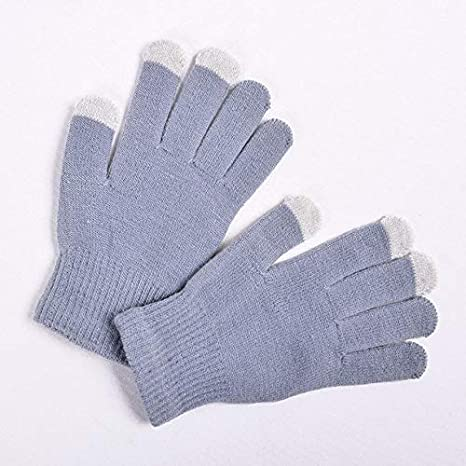 LFDTST Magic Touch Screen Gloves Mujeres Mujeres Guantes Hombres ...