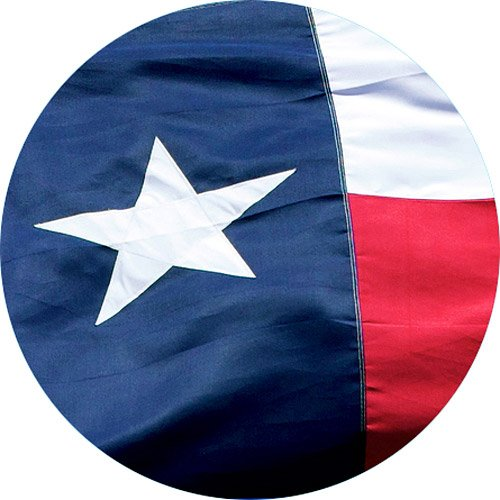 Texas State Flag 2x3-100% Made In USA using Tough, Long Lasting Nylon Built for Outdoor Use, UV Protected and Featuring A Bright Appliquéd Star and Sewn Using Strong Quadruple Stitching on Fly End (3' Label 200)