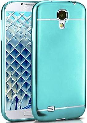 MoEx Caso Suave para Samsung Galaxy S4 | Funda de Silicona con Efecto metálico Mate | Protección de celda Fina Bolsa de OneFlow | Backcover en ...
