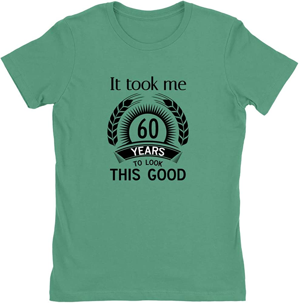 It Took 60 Years to Look This Good Womens Boyfriend Fit Tee