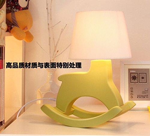 Cavallo A Dondolo Design.Zq Qx Moda Design Arredamento Tavolo Lampada Creativo