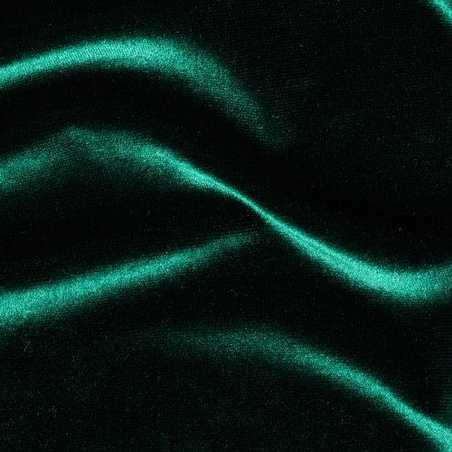 Stretch Velvet Hunter Green - Fabric Velvet