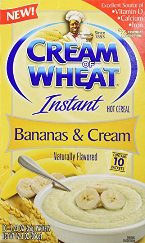 Cream of Wheat, Hot Cereal, Bananas and Cream, 12.3 Ounce