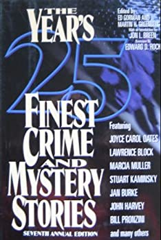 The Year's 25 Finest Crime and Mystery Stories: Seventh Annual Edition 078670571X Book Cover